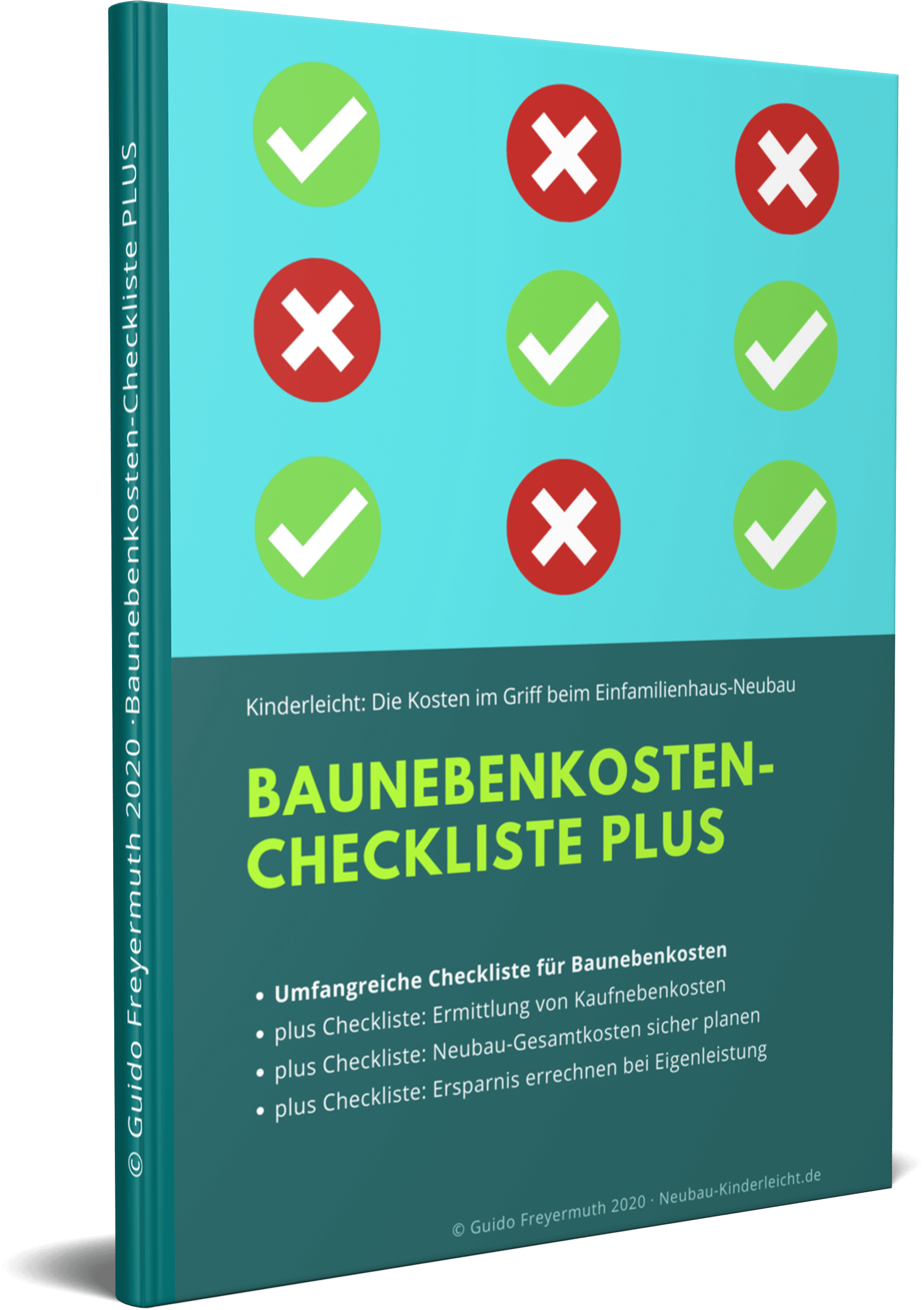 Baunebenkosten-Checkliste PLUS Gratis zum Download